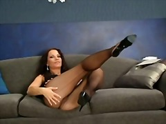 Pussy in nylons