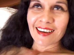 Mature latina shows ho...