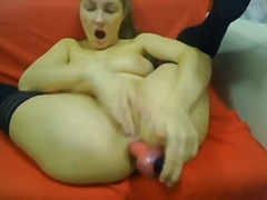 Margot plays with her ...