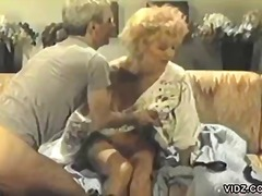 Over Thumbs - Mature couple enjoys a...