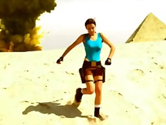 Sexy Lara Croft Cospla... from Xhamster