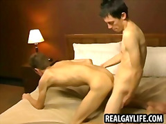 Horny twink jerks off ...