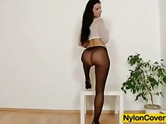 Sharon nylons fetish d...