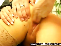 Clothed glamour euro f...
