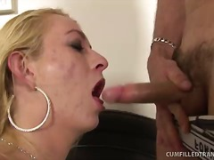 Tranny Leona Spunked R... from Over Thumbs