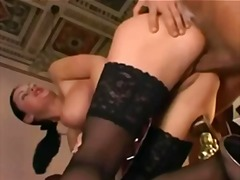 Hot model fucking with...