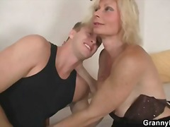 Keez Movies - Old blonde rides his s...