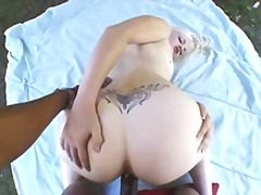Blonde Getting Fucked ...