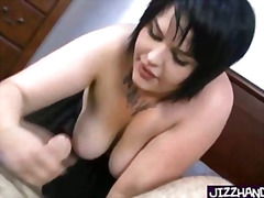 Heavy tattoed girl han... from H2porn