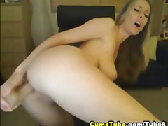 POV Busty Blonde Fucks... from Tube8