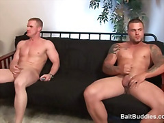 Two buff str8 dudes sh... from H2porn