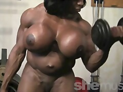 Xhamster - Ebony Female Muscle