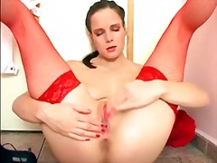 PornHub - LONG LEGGED BRUNETTE M...