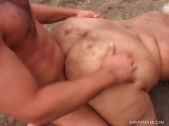 Dirty BBW Fucking in p...