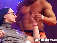 Male strippers strip d...