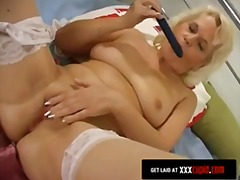 Chubby Granny Cums For... from Keez Movies