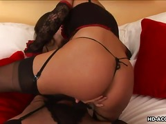 Saucy lesbians in sexy...