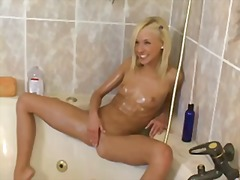 Alpha Porno - Skinny oiled up teen f...