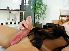 Hot tranny Laura Ferra... from Over Thumbs