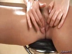 Oiled bawdy hole is ru... from Yobt TV