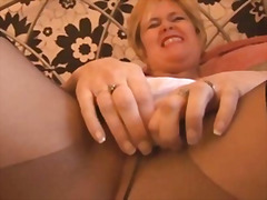 Busty mature babe in p... from H2porn
