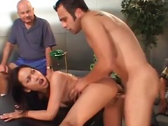 Asian wife cheats and ...
