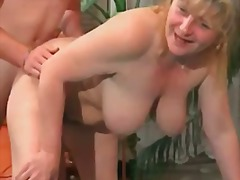 Tube8 - Chubby busty mature ge...