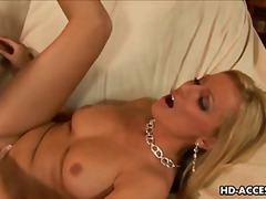 Smoking hot blonde les... from Redtube