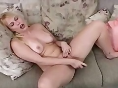 Blonde Played And Cum ... from Tube8
