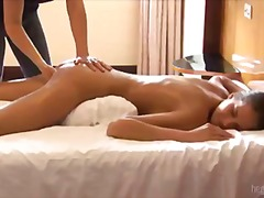 Masseuse Fists Her Hot... from Tube8