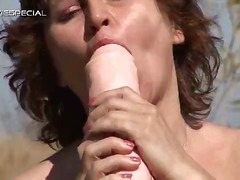 Steamy mother gets her...