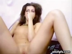Small tits beauty rubs... from Alpha Porno