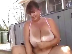 Granny bbw masturbatio... from Tube8