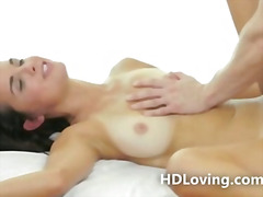 Stunning babe rides co... from H2porn