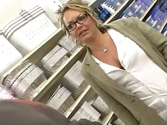 Hot blonde cougar take... from WinPorn