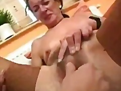 Tube8 - Kissing grandma mature...