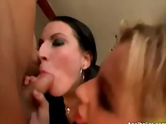 Tube8 - Horny blonde and brune...