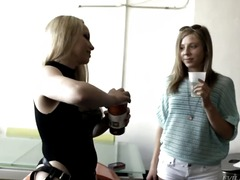 The frisky lesbian por... from Updatetube