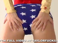 Taylor is wonder woman from PornHub