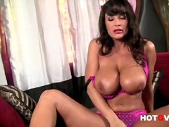 PornerBros - Latina babe lisa finge...