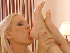 Lesbian scene with san... from Xhamster
