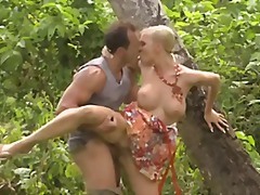 Hot jungle action
