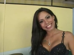aShemaleTube - This tranny is simply ...