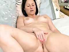 Xhamster - Mommy touching her pussy