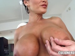Seductive famous brune... from Updatetube