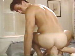 Horny guy ramming tigh...