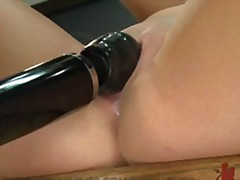 Creamy pussy gets fuck...