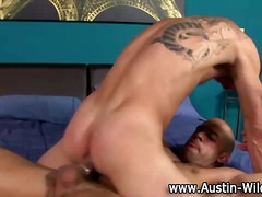 Hot gay pornstar hunk fuc...