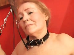 Granny punished in the...