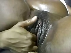 Oiled up and spread bl...